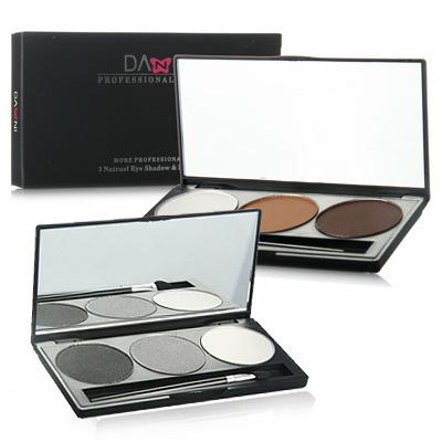 3 cores Da Paleta Da Sombra de Maquiagem Sombra de Olho Oferta Especial Composto de Cosméticos Nu Paletas de Sombras Nuas