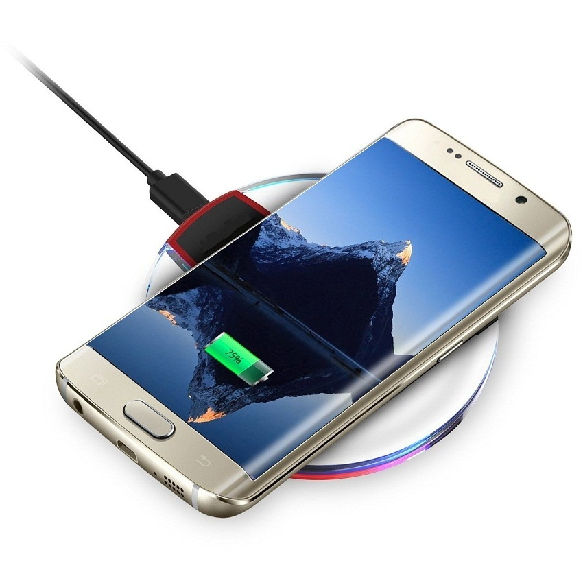 Wireless Charger for iPhone 7 6 6s plus 5s 5s SE Wireless ...