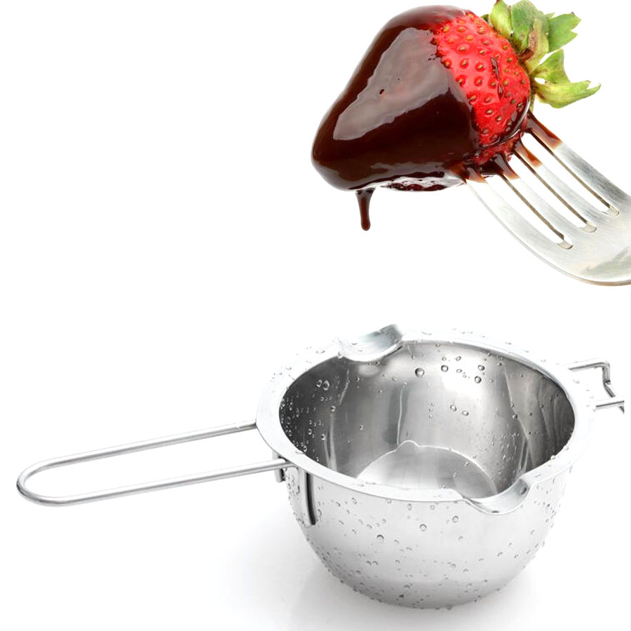 Metal Stainless Steel Fondant Gum Paste Tool Chocolate Melt Bowl Butter Heating Kettle For The Kitchen Baking Tool Keep You Fit All The Time Kitchen,dining & Bar Bakeware