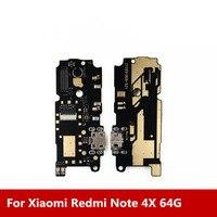Nova Doca de Carregamento USB Porto + Microfone Para Xiaomi Redmi Nota 4X64G Modul Carregamento Data Interface Geral frete Grátis