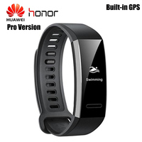 Huawei Band 2 Pro IP68 Waterproof GPS Smart Band PMOLED Screen Heart Rate Monitor Sedentary Reminder Sports Guide Wristband Men