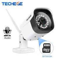 Techege WiFi IP Camera Aduio 1080P 960P 720P ONVIF P2P Motion Detection RTSP Email Alert Outdoor