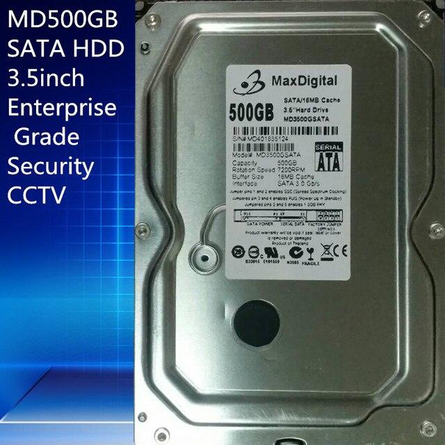 "500 ГБ HDD SATA 3.5 дюйма MaxDigital/MD500GB SATA 3.5 ""Корпоративного Уровня Безопасности CCTV Жесткий Диск Гарантия 1-год"