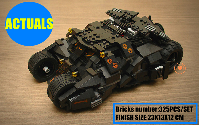 Batman Tumbler bat-pot fit legoings super heroes DC Batmobile Joker Superman Model Building Block kit Bricks boy kit gift set batman tumbler bat pot 7105 batmobile joker superman 7115 model building block kit bricks boy compatiable legoes kit gift set