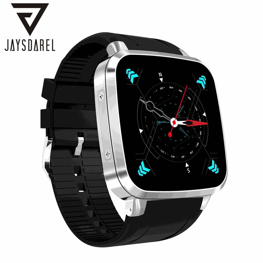 JAYSDAREL N8 Android 5.1 Smart Watch Phone SIM Card Heart Rate Monitor 8GB ROM GPS Wi-Fi Smart Wristwatch for Android iOS gs8 1 3 inch bluetooth smart watch sport wristwatch with gps heart rate monitor pedometer support sim card for ios android phone