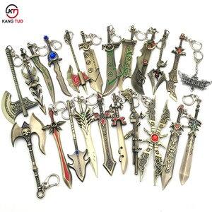 Брелок LOL League Of Legend, 15 шт./партия, брелок для ключей LOL demarin, модель LOL, для любителей, подарки на сувениры, 12 см