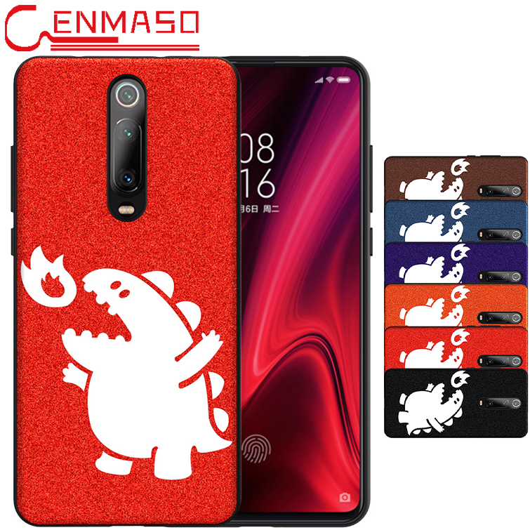 For XIAOMI MI 9T Case Cute Leather Back Cover For Xiaomi Mi 9T Mi9T For Redmi K20 Pro Cases Ultra Thin Shockprof Phone Case capa-in Fitted Cases from Cellphones & Telecommunications