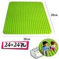 Блоки большая Базовая пластина DIY Строительная пластина для строительных блоков игрушки детские подарки большие частицы Кирпичи серии фиг...