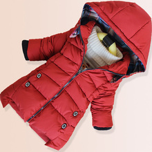 New Baby Boys Padded Jacket Boys Warm Coats Winter Jacket Children Parka Clothing Winter Boy Christmas Removable Hooded Snowsuit