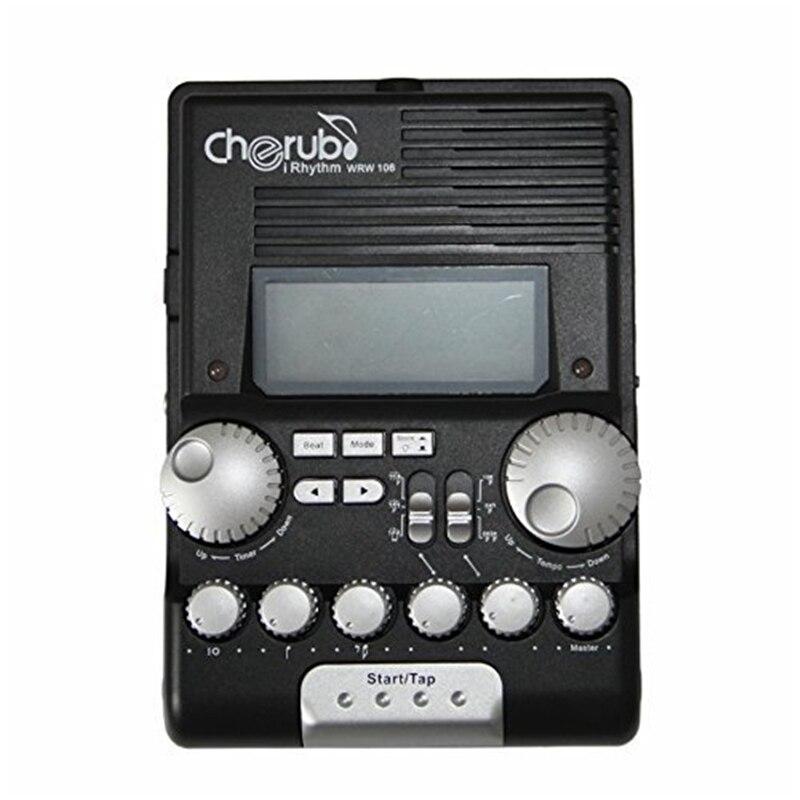 Cherub WRW 106 Electronic Drum Metronome Professional Multi function Digital Drummer Metronome Percussion trainer