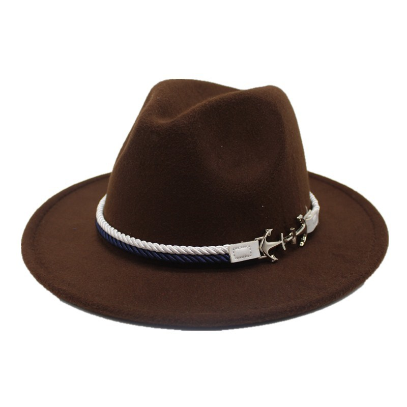 a4aa2a9ecfc Detail Feedback Questions about oZyc 2018 new Spring Wide Brim Fedora Men  Women Vintage Jazz Hats Fashion Stars Wool felt hat Unisex red Felt Bowler  Trilby ...