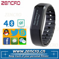 Silent Vibrating Bracelet Smart Activity Wristband Bluetooth Calorie Counter Pedometer
