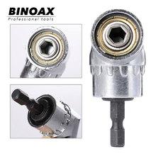 "105 Degrees 1/4"" Electric Hex Drill Bit Adjustable Hex Bit Angle Driver Screwdriver Socket Holder Adaptor tools"
