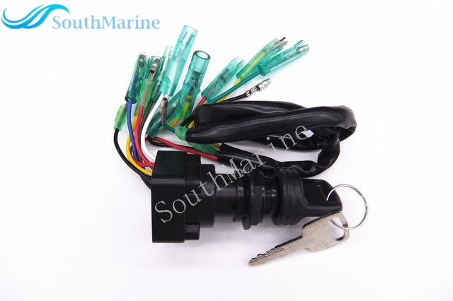 Remote Control Box Ignition Switch / Main Switch Assy  703-82510-43-00 703-82510-42-00 for Yamaha Outboard Motors Push to Choke