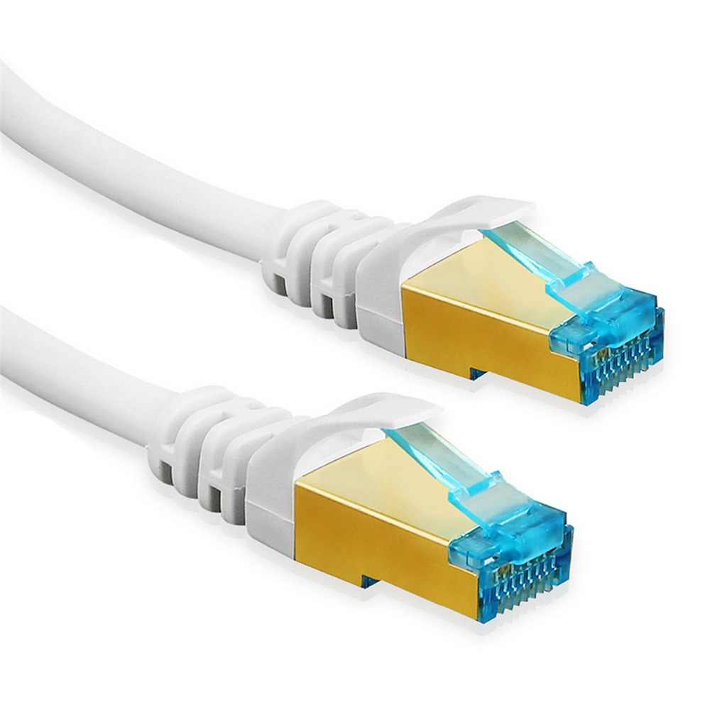 Cat 6 Ethernet Lan Cable RJ45 Connector UTP Cat6 Network Internet Patch Cord Speed up to 1 Gigabit for PC Router Switch PS3 PS4