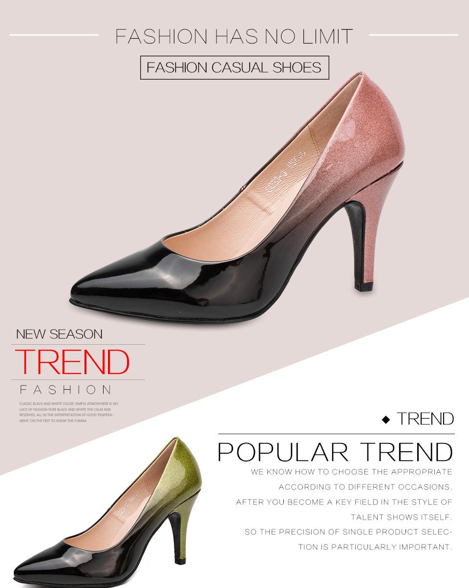 Pointed Toe Women Shoe