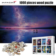 MOMEMO Look Up At The Starry Sky Puzzle 1000 Pieces Adult Wooden Puzzles Assembling Game Entertainment Toys