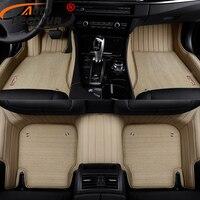 AutoDecorun Custom Fit PVC Leather Car Floor Mats For BMW 1 2 3 4 5 6 7 X1 X3 X4 X5 X6 Z4 Series Car Carpet Mats Set Accessories