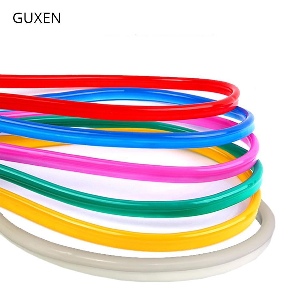 GUXEN 12V led strip light SMD 2835 chip waterproof IP67 Neon band led lamp for living room warm whitecold white