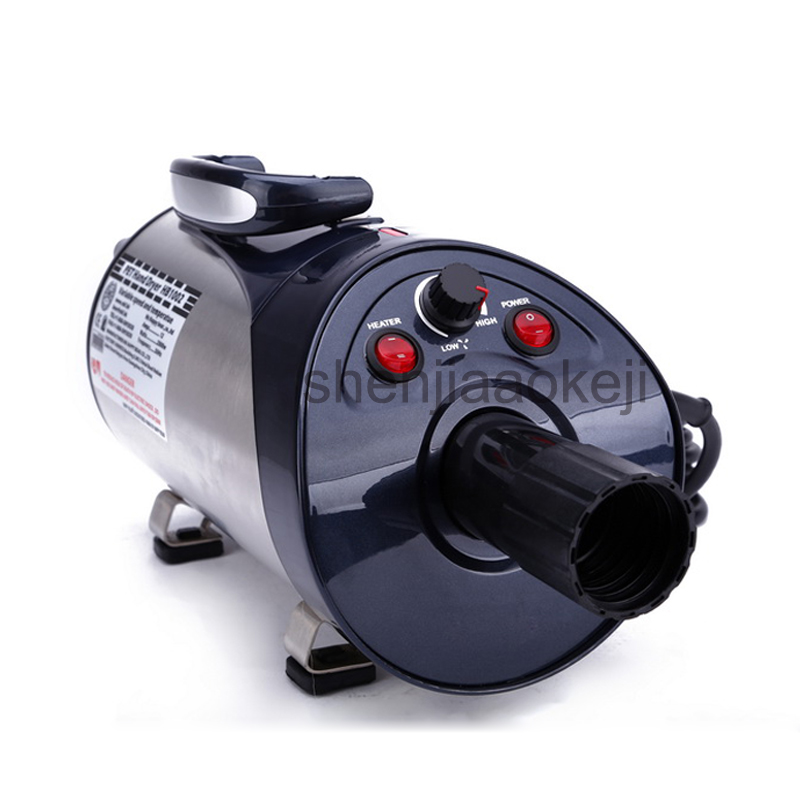 EU/UK/US Mute Pet Hair Dryer HB1002 Pet special water blowing machine Pets Dog Cat Force Dryer Heater 220V 2800W 1pc analasing the dental industry