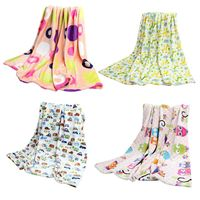 New Arrival Infant Bedding Blanket Autumn Baby Blankets Newborn Swaddle Wrap Printed Baby Flannel Blanket
