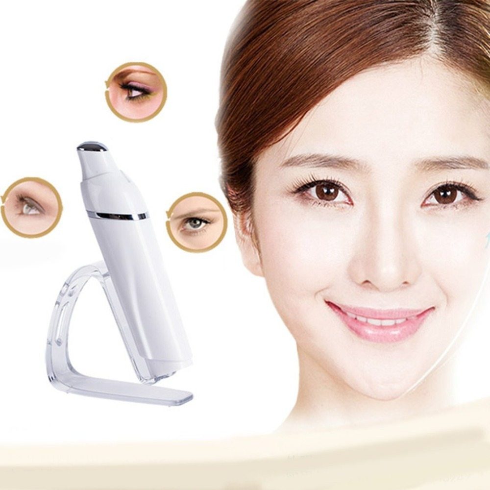 Eye Massager Device Heating Sonic Therapy Anti-Aging Wrinkle Removal Galvanic Anions Mini Elektrische Eye MassageEye Massager Device Heating Sonic Therapy Anti-Aging Wrinkle Removal Galvanic Anions Mini Elektrische Eye Massage