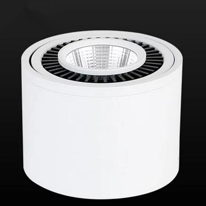 Veleprodajna cijena 360 stupnjeva okretna COB LED svjetla 7W 12W 20W - Unutarnja rasvjeta - Foto 2
