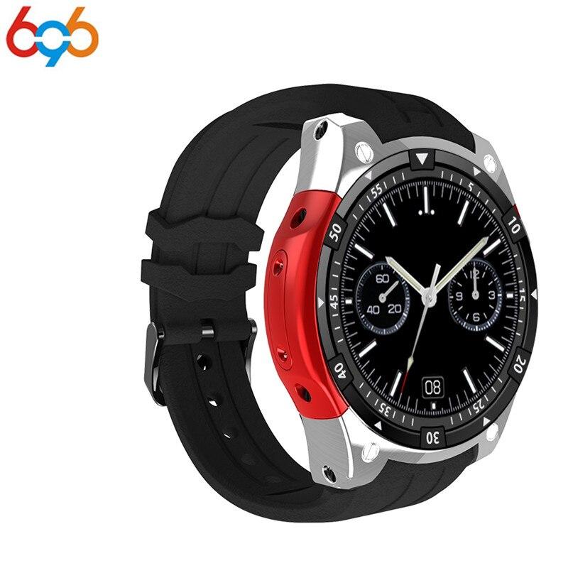 696 חמה למכירה X100 MTK6580 Smartwatch שעון חכם אנדרואיד 5.1 OS 3 גרם ה-SIM GPS PK watchs Q1 פרו IWO KW18 Relogio Inteligente עבור IOS
