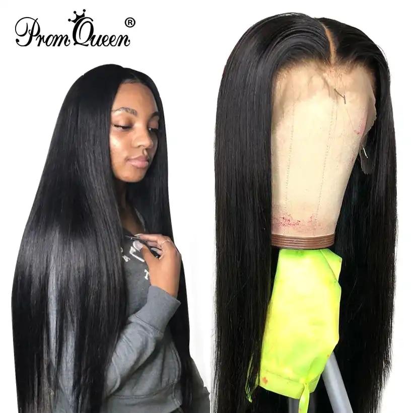Lange Perücke 30 32 34 36 38 40 inch Spitze Front Menschliches Haar Perücken Mit Baby Haar Brasilianische Reines 360 spitze Frontal Perücke Für Schwarze Frauen