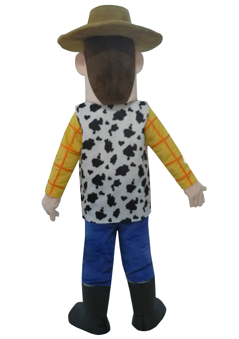 Cow Boy Woody Mascot Costume Cow Boy Mascot Costume Cartoon Mascot Adult Size for Party for Halloween Party Event Free Shipping in Mascot from Novelty Special Use