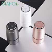 GIAHOL portable Ultra quiet Negative ionic Air purifier Intelligent Aromatherapy Car Air freheener Best Remove Smoke Odor Dust