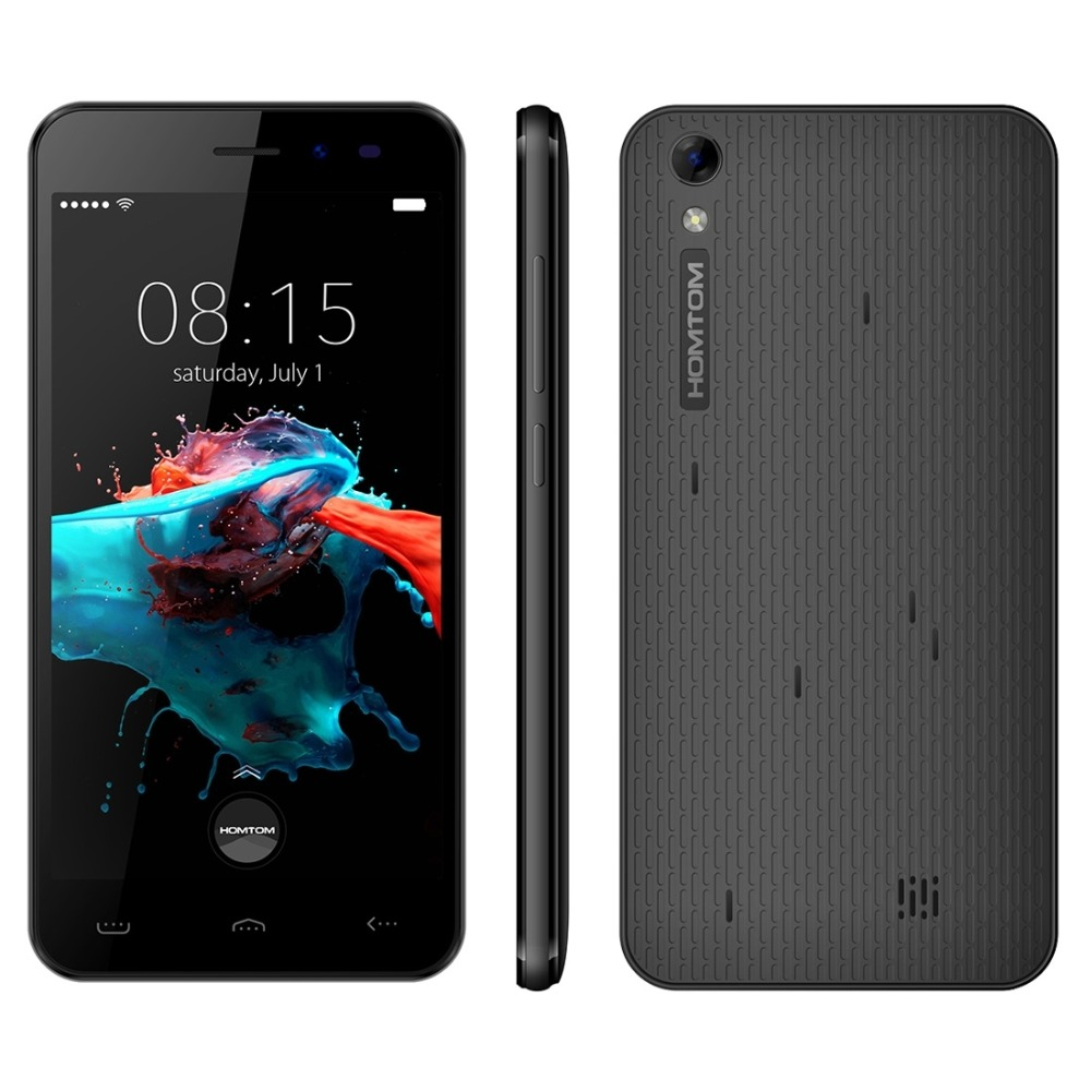 Homtom HT16 Smartphone 5 0 Inch 1GB RAM 8GB ROM Android 6 0 Quad Core 1280x720