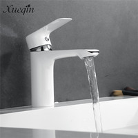 Xueqin Basin Faucet High Quality Single Handle Chrome Bathroom Faucet Hot And Cold Water Mixer Sink