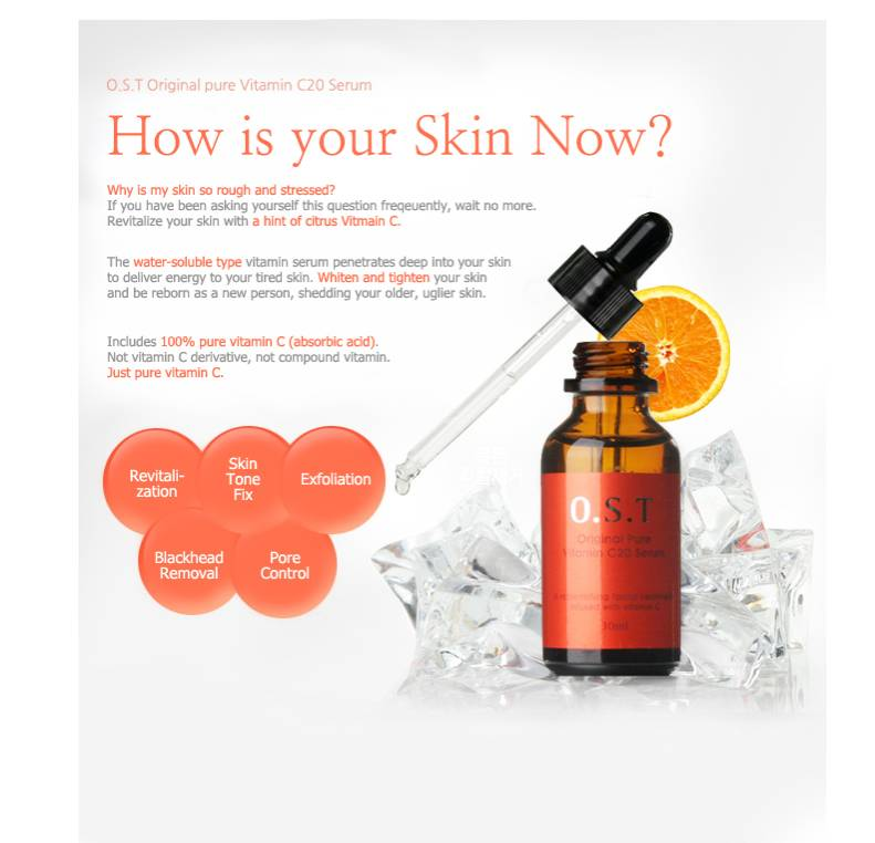 TIAM Tanda Tangan Saya C Sumber Vitamin C20 Serum Asam Ascorbic Serum - Perawatan kulit - Foto 3
