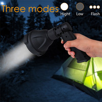 Bike Cycling Light Super Bright USB Charg 3 Modes XML T6 Tactical LED Flashlight Torch Lamp