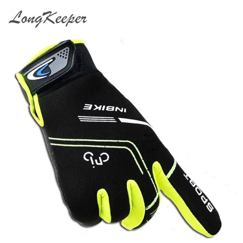 LongKeeper Մարզասրահ ձեռնոցներ տղամարդկանց համար մարտավարական ձեռնոցներ սպորտային ձեռնասայլակներ Ամբողջ մատով հեծանիվ ֆիթնես ձեռնոցներ կանացի ձեռնոցներ G252