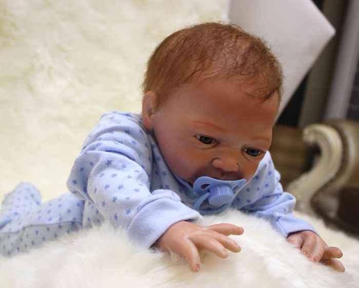 """Silicona suave reborn muñecas baby boy 20 """"bebés reborn falsos para niños regalo muñeca juguetes bebés reborn bonecas"""