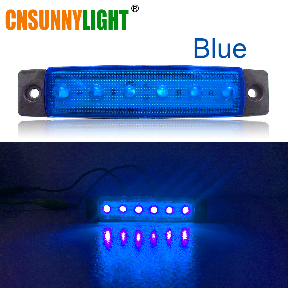 CNSUNNYLIGHT Car LED Bus Clearance Lamp Tail Reverse Light Turn Signal Truck Trailer Lorry UTE Caravan Rear Warning Lighting Bar (2)