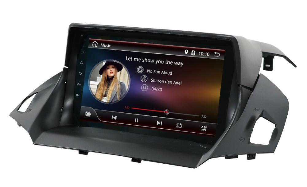 Android 9.0 Unit Car radio Stereo Audio GPS <font><b>navigator</b></font> dvd Intelligent Multimedia Player for <font><b>Ford</b></font> Kuga 2013 2014 2015 2016 <font><b>2017</b></font> image