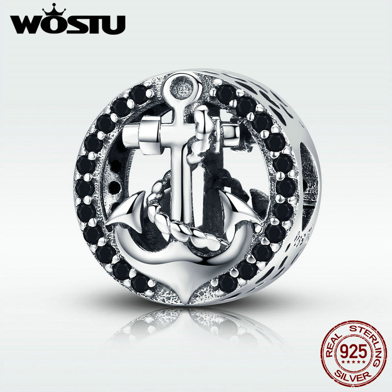 WOSTU Hot Sale Real 925 Sterling Silver