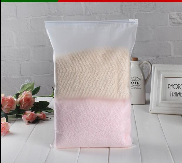Unique 50PCS/LOT Matte Clear Self Seal Storage Packing Bags Poly  YZ42
