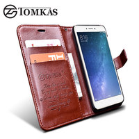 Xiaomi Redmi 4X Case Cover TOMKAS Original Flip PU Leather Wallet Cases For Xiomi Xiaomi Redmi