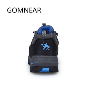 Image 4 - GOMNEAR Sneakers Hiking Shoes Men Outdoor Fishing Trekking Shoes Waterproof Tourism Camping Sports Hunting Shoes Leather Boots