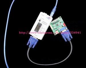 Image 5 - Бесплатная доставка 100% оригинальный новейший RT809F ЖК ISP программатор с 8 адаптерами + тестовый зажим sop8 IC + плата ICSP/кабель ISP