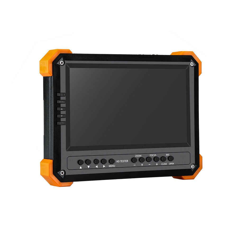 CCTV اختبار مراقب 7 بوصة 4 K 1080 P IPC كاميرا CVBS التناظرية اللمس الشاشة مع POE HDMI ONVIF WIFI ip فاحص الكاميرا