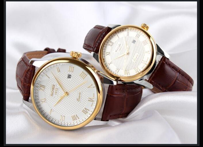 Relógio de Quartzo Para Mulheres Dos Homens
