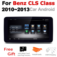 Car Android Radio GPS Multimedia player For Mercedes Benz CLS Class 2010~2013 NTG stereo HD Screen Navigation Navi Media