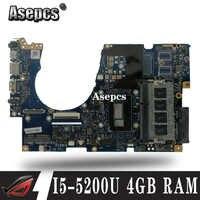 Akemy UX303LAB ordinateur portable carte mère pour ASUS UX303LA UX303LNB ordinateur portable carte mère I5-5200U 4GB RAM 90NB04Y0-R06000