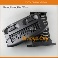 Multi Functional Vertical Game Console Charging Stand Dual Cooling Fan Storage Holder Mount for Xbox One X ChengChengDianWan