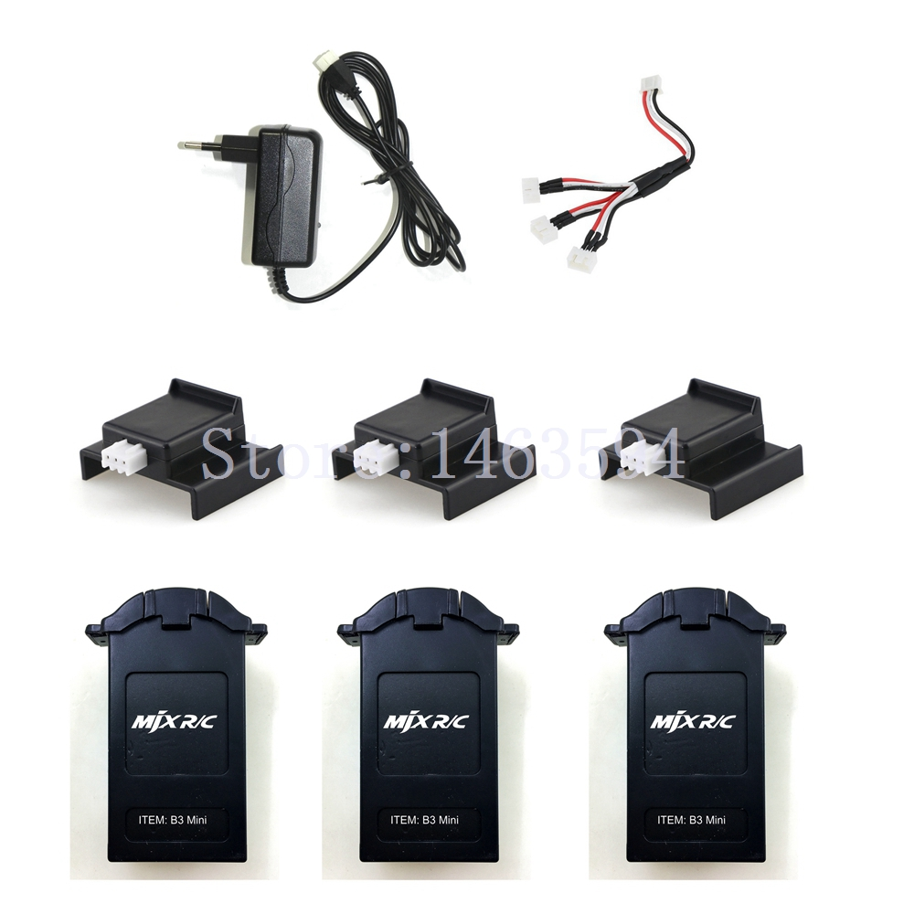 MJX Bugs 3 Mini RC Quadcopter Spare parts Charger+1 to 3 wire+3 PCScharger adapter+3 PCS BMJX Bugs 3 Mini RC Quadcopter Spare parts Charger+1 to 3 wire+3 PCScharger adapter+3 PCS B